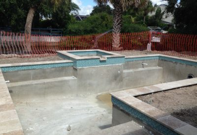 custom swimming pool construction price
