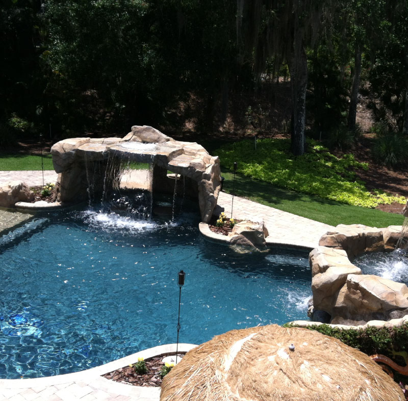 Gettle Pools Services - deck & pavers