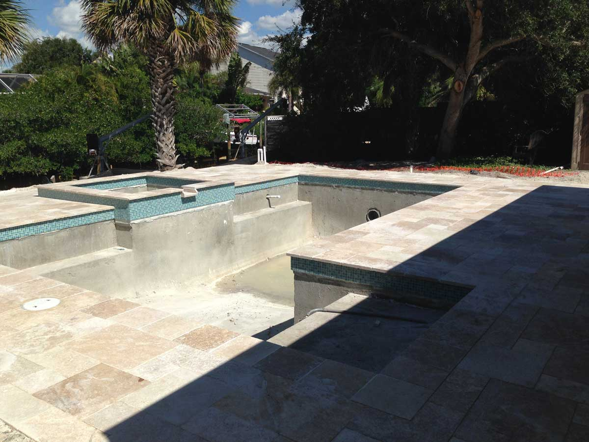 Under construction 15 gettle pools sarasota pool for Pool designs under 30000