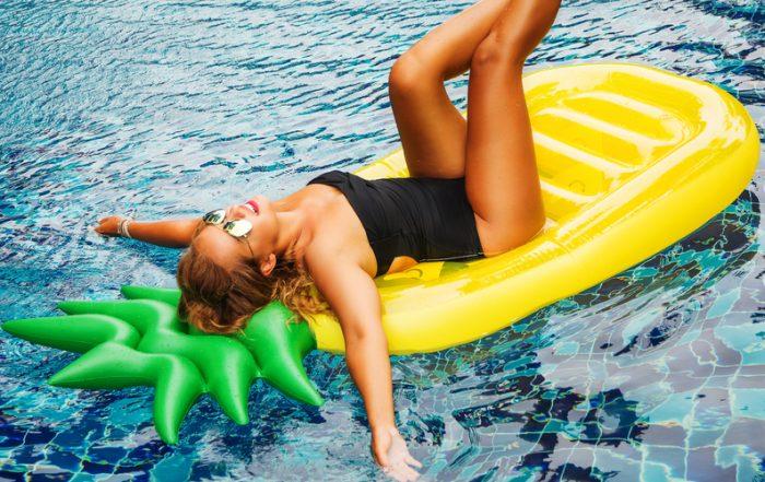 Is The Pool Making Your Hair Turn Green-Sarasota Pool