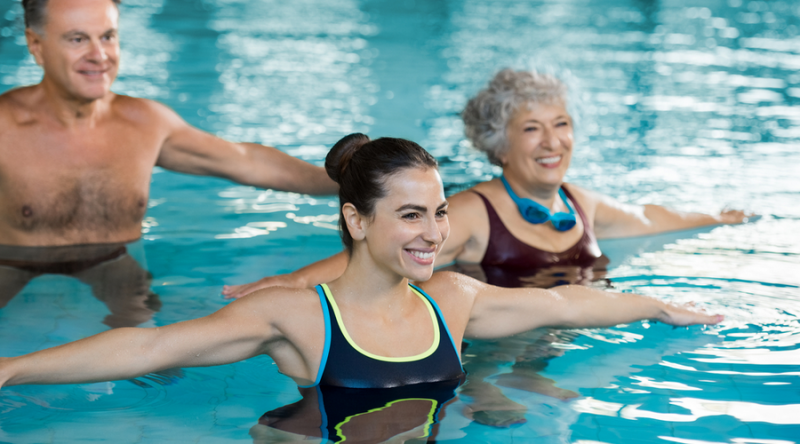 4 Effective Exercises To Help You Lose Weight In A Pool-Sarasota Pool