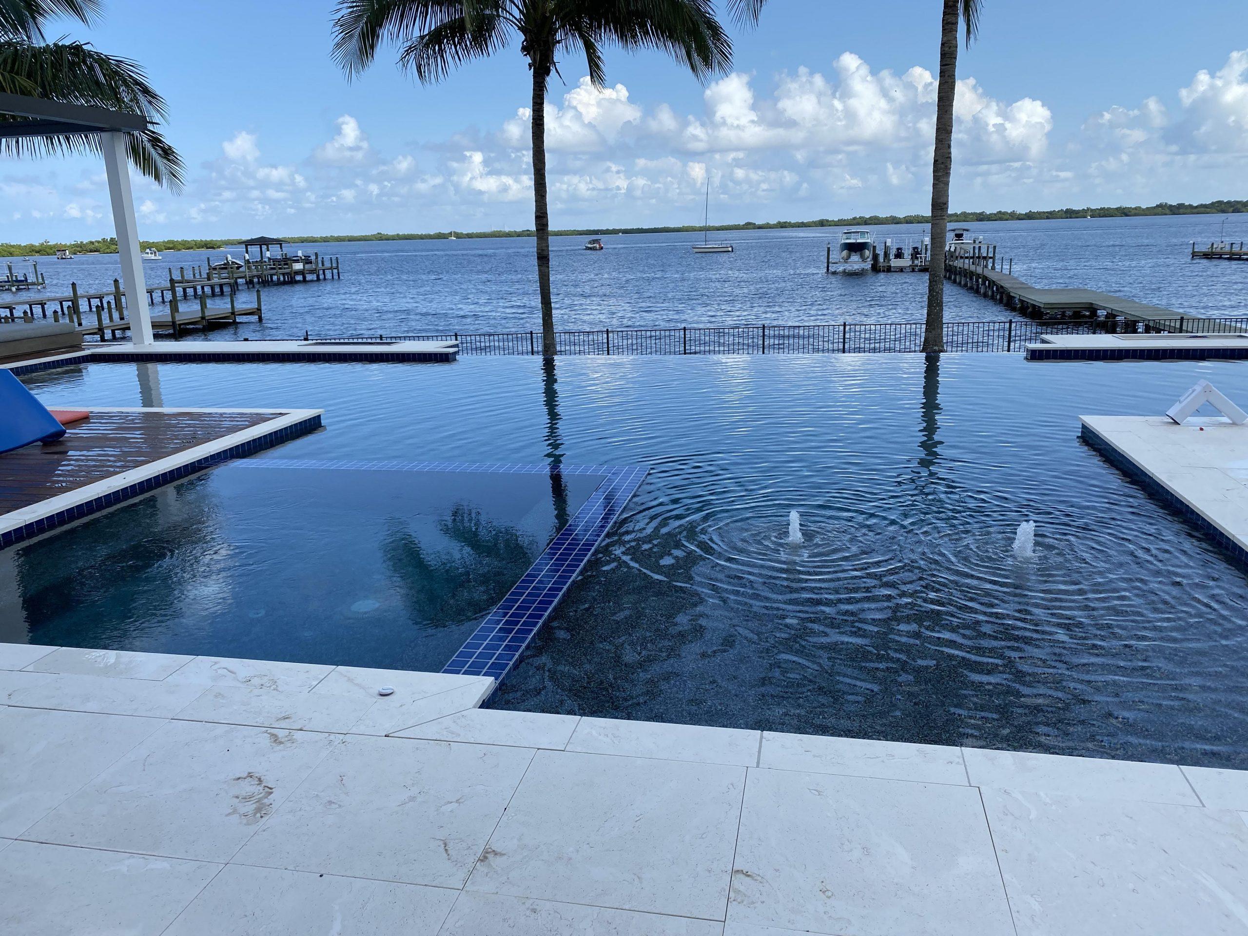 Scherer Residence finished pool